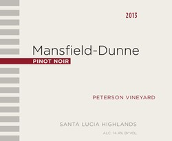 2013 Peterson Vineyard Pinot Noir magnum Image