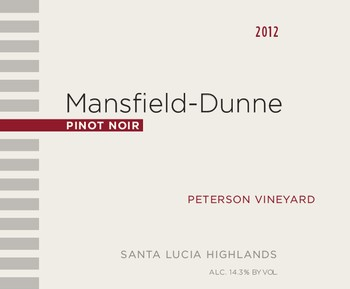 2012 Peterson Vineyard Pinot Noir magnum Image